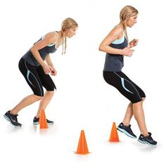 functional training - workout that translates to sports Improving your athletic skills gives you a competitive edge and scores you a hot body Agility Workouts, Basketball Workouts, Agility Training, Soccer Drills, Soccer Training, Boxing Drills, Basketball Tricks, Soccer Practice, Athlete Workout
