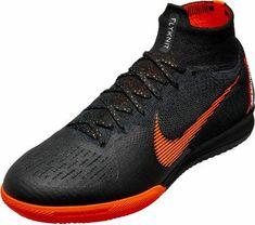 e8886b0318c9 Nike SuperflyX 6 Elite IC – Black/Total Orange. Superfly Soccer CleatsFutsal  CourtFutsal ShoesFootball ...