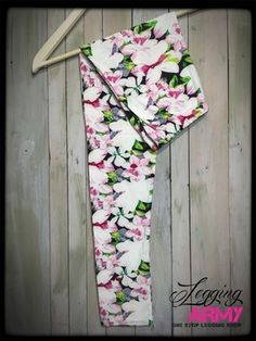 Blushing Blossoms   $16 leggings that give LuLaRoe a run for their money! I swear they are softer and even more comfortable! AND they aren't see through!  I've died and gone to heaven!