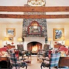 Top Stone Fireplace Designs . . . That Are TRULY ON TOP!
