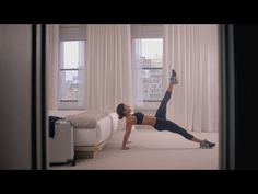 Hotel Room Workout 16 minute workout for when you're on the road and might have no access to equipment