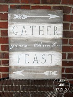 Gather give thanks F
