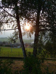 Ronzone - ultime luci del tramonto