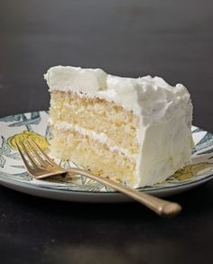 Gluten Free Lemon Layer Cake: another option to make for Mary Lynne on Mother's Day.  YUM