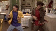 "When he and Cory do their signature best friend handshake. | Community Post: 37 Times Shawn Hunter From ""Boy Meets World"" Was A Total Dreamboat"