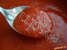 Talianska rajčinová omáčka (salsa di pomodori) Salsa, Pesto, Icing, Pudding, Desserts, Food, Tailgate Desserts, Gravy, Deserts