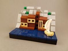 Micro Wooden Villa by the Sea MOC VI