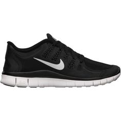 Nike Free 5.0+ Shield Women's Running Shoe ($115) ❤ liked on Polyvore featuring shoes, sneakers, nike, sport, trainers, nike footwear, sport shoes, lace up shoes and laced shoes