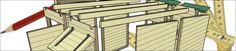 Construction d'un poulailler en palettes modulable- plan | Poulailler bio
