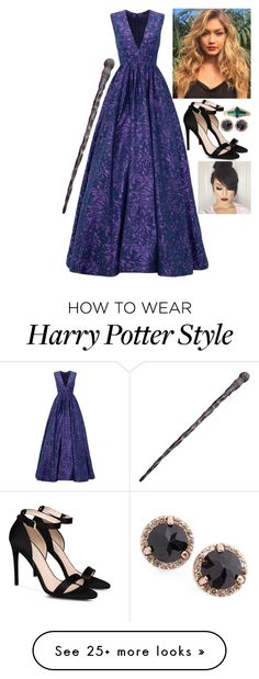 """""""HARRY POTTER OC : Shailene Michelle Williams"""" by thor-of-asgard on Polyvore featuring ML Monique Lhuillier, STELLA McCARTNEY, M.O.T.D Cosmetics and Anna Sheffield"""