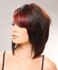I would LOVE to have this color & cut if it hadn't taken me soo long to grow my hair out! <3