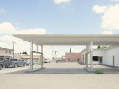 Gas Station East Spruce Street Deming New Mexico - Iñaki Bergera Deming New Mexico, New Mexico Usa, New York Photographers, Photo Projects, Gas Station, Abandoned, Art Photography, Branding Design, Pergola