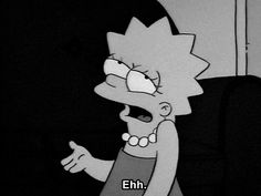 black and white,simpsons,tumblr,grunge,qt