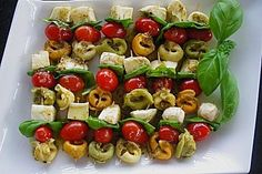 Tortellini - Spießchen