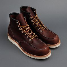 Red Wing Classic Moc Toe Boot. $229