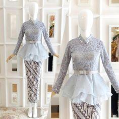 18 Trendy Ideas For Diy Wedding Dress Patterns Inspiration Kebaya Muslim, Kebaya Modern Hijab, Kebaya Hijab, Kebaya Dress, Muslim Dress, Kebaya Wedding, Diy Wedding Dress, Wedding Dress Patterns, Wedding Ideas
