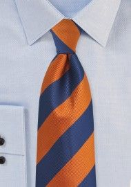 Striped Ties | Striped Neckties | Shop Striped Mens Ties | Cheap-Neckties.com Blue Ties, Blue Bow, Striped Ties, Navy Blue, Orange And Purple, Blue And White, Burnt Orange, Navy Silver Wedding, Blue Suit Men