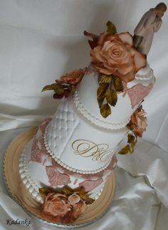 Svadobná ladená ku soške , svadobné torty | Tortyodmamy.sk
