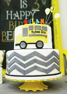 Beep beep! All aboard the yellow bus birthday!