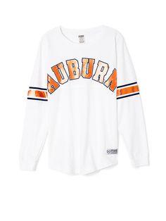 Auburn University Limited Edition Varsity Crew - Victoria's Secret PINK