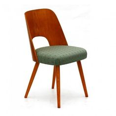 Located using retrostart.com > Dinner Chair by Oswald Haerdtl for Ton Czechoslovakia, funkcionalista.cz