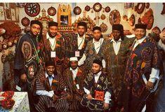 Men from Ghadames in Libya.
