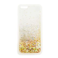 glitter bomb iPhone 6/6s case - clear #adroll #spring16