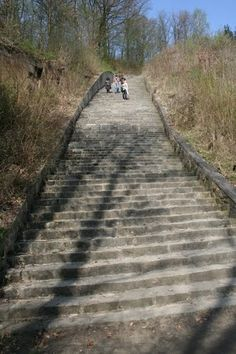 Stairway of Death, Mauthausen Concentration Camp, near Linz, Austria