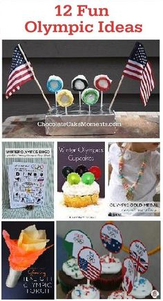 12 Ideas to Have Fun with the Family Watching the Winter Olympic Games     www.ChocolateCakeMoments.com
