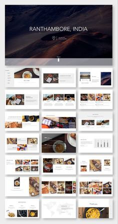 No Photoshop or other tools needed! Easy to use! Template Web, Powerpoint Design Templates, Flyer Template, Brand Presentation, Presentation Layout, Module Design, Ppt Design, Booklet Design, Design Layouts
