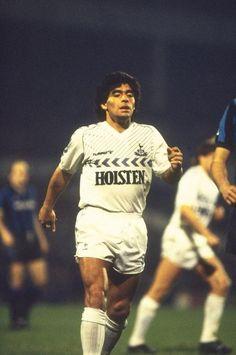 b98f952ac Maradona with Tottenham Tottenham Hotspur Football