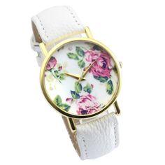 Sale Preis: Better Dealz Vintage Blume Damen Armbanduhr Basel-Stil Quarzuhr Lederarmband Uhr Top Watch #3,weiß. Gutscheine & Coole Geschenke für Frauen, Männer & Freunde. Kaufen auf http://coolegeschenkideen.de/better-dealz-vintage-blume-damen-armbanduhr-basel-stil-quarzuhr-lederarmband-uhr-top-watch-3weiss  #Geschenke #Weihnachtsgeschenke #Geschenkideen #Geburtstagsgeschenk #Amazon