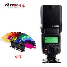 check price viltrox jy 680a universal camera lcd flash speedlite for canon nikon pentax olympus dslr #olympus #cameras