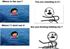 I literally read this while watching Dora and she was doing this bit, lmao!!