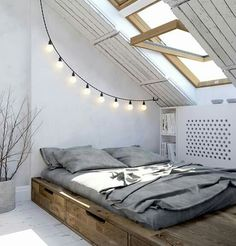 Pat dormitor scandinav