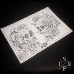 Dessin par Willem #tattoo #engraved #tatouage #blackartist #engraving #blacktattoing #black #blackwork #blacktattooart #cannes #sangpiternel #noir #drawing #sketching