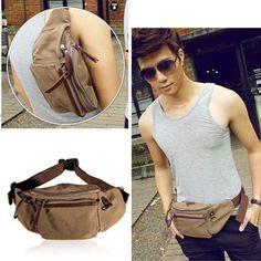 Canvas Soft Small Hip Backpacks, Bags & Briefcases for Men Mens Waist Bag, Smaller Hips, Belt Purse, Briefcase For Men, Wallets For Women, Purses And Bags, Backpacks, Shoulder, Casual