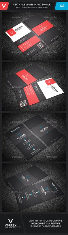 Creative Vertical Business Card Template PSD Bundle. Download here: http://graphicriver.net/item/creative-vertical-business-card-bundle/15669844?ref=ksioks
