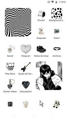 Iphone App Design, Iphone App Layout, Iphone Wallpaper App, Ios Wallpapers, Simbolos Para Nicks, Piskel Art, Whatsapp Theme, Iphone Home Screen Layout, Phone Themes