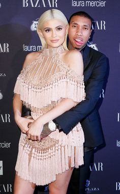 Kylie Jenner in Balmain with Tyga - Harper's BAZAAR Celebrates Icons by Carine Roitfeld at the Plaza Tyga And Kylie, Kylie Jenner Outfits, Kendall And Kylie Jenner, Kylie Kenner, Jenner Girls, Carine Roitfeld, Jenner Sisters, Kardashian Style, Jenner Style