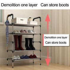 Cheap shoe rack, Buy Quality standing shoe rack directly from China storage shoe rack Suppliers: New arrival Nonwovens Multiple layers Shoe Rack with handrail Easy Assembled Shelf Storage Organizer Stand Holder Keep Room Neat Shoe Hanger Organizer, Shoe Rack Organization, China Storage, Storage Shelves, Shelf, Cheap Shoe Rack, Living Room Furniture, Cabinet Furniture, Cool Apartments