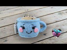 Je vous présente cette magnifique tasse kawaii crochet. Tutoriel gratuit présenté par Lidia Crochet Tricot. À voir absolument.