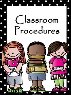 This was created to help teachers plan procedures for the beginning of the year. Twenty-four procedures are included, with tips for each procedure!
