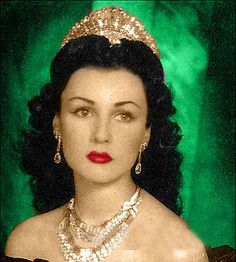 Fawzia of Egypt, Queen of Iran. Fawzia was the first wife of the Shah of Iran and sister of King Farouk if Egypt