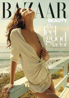 'The Feel Good Factor' Rianne Ten Haken by Yu Tsai for UK Harper's Bazaar August 2012