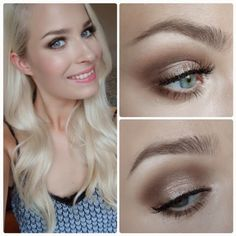 Summer Special Occasion Make-Up Tutorial using the naked palette