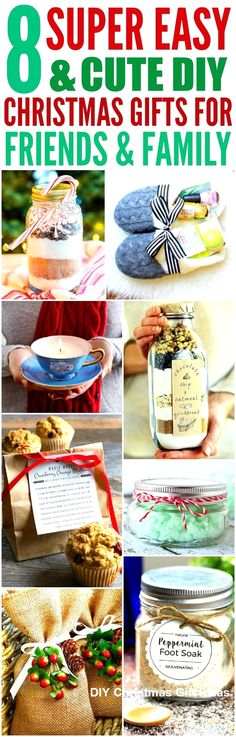 A Xmas Birthday Occasion Desires Xmas Bash Favor Strategies To Generate Happy Tidings! These 8 Easy And Cute Diy Christmas Gifts Are The Best I'm So Glad I Found These Amazing Ideas Now I Have Cool Gift Projects For Friends And Family Definitely Pinning Diy Christmas Presents, Diy Presents, Christmas Gifts For Friends, Homemade Christmas Gifts, Homemade Gifts, All Things Christmas, Christmas Time, Gifts For Kids, Holiday Gifts