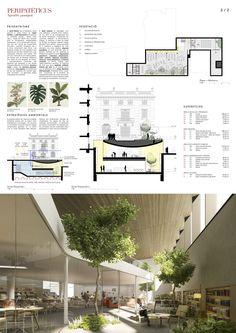 Architecture Panel, Architecture Graphics, Architecture Portfolio, Interior Architecture, Interior Design Presentation, Presentation Layout, Portfolio Design, Layout Design, Planer