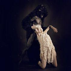 Amazing shredded dress ~ Photo by Nicol Vizioli