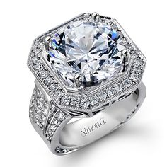 Passion Collection - gorgeous 18K white gold Diamond ring